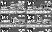 优惠券缩略图:2015年1月2月汉堡王手机优惠券整张版本,手机出示优惠券即可享汉堡王优惠折扣