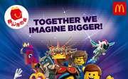 麦当劳2019年2月3月儿童餐免费玩具 乐高大电影2系列玩具