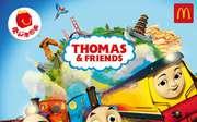 優惠券縮略圖:麥當勞2019年4月5月兒童餐免費玩具,托馬斯和他的朋友們玩具