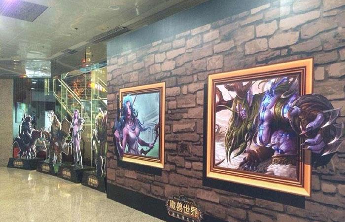 魔兽世界主题餐厅店内实景一