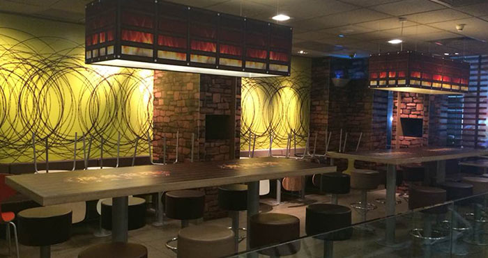 魔兽世界主题餐厅店内实景二