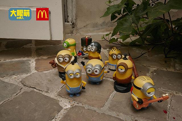 麦当劳小黄人来啦